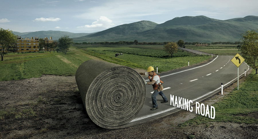 making-road