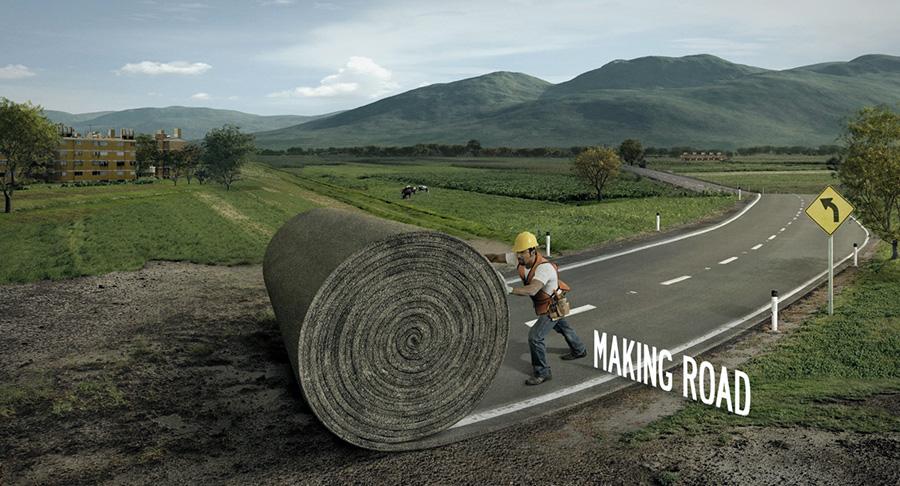 making-road