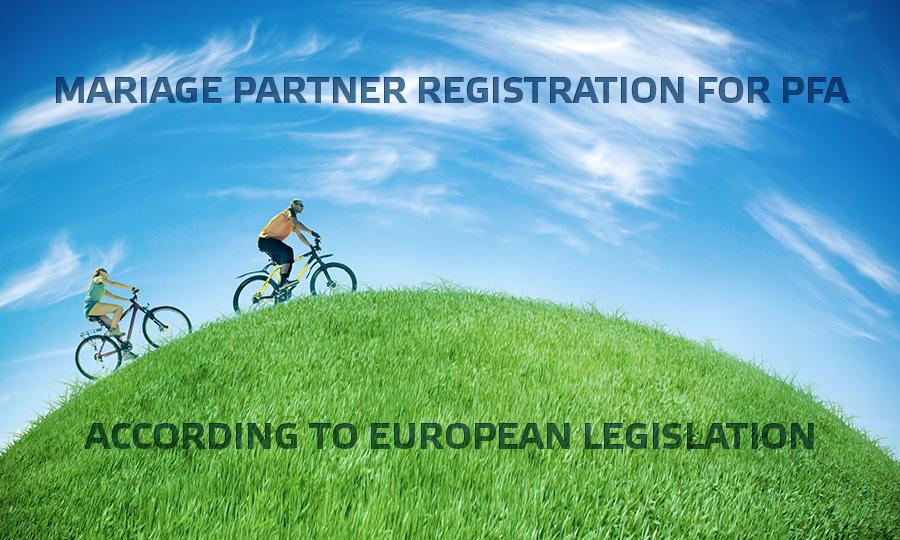pfa partner legislation